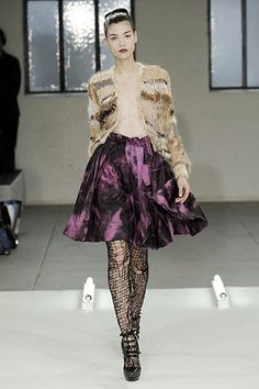 Rodarte Fall 2008 Ready-to-Wear Fashion Show - Sheila Marquez