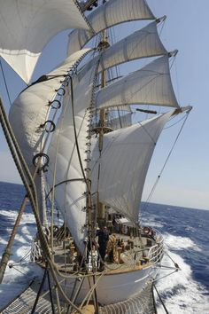 "Coast Guard EAGLE :: ""She is one of only two active commissioned sailing vessels in American military service, the other being the USS Constitution."""