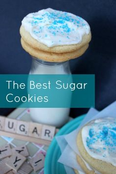 The Best Sugar Cookies from http://FrugalLivingNW.com