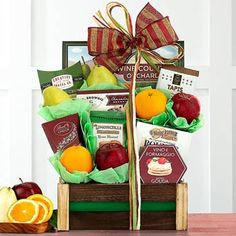 Fruit Gift Baskets - All Occasion Basket of Fruit Summer Gift Baskets, Summer Gifts, Basket Gift, Valentines Gifts For Boyfriend, Valentine Gifts, Honey Crunch, Send Chocolates, Employee Appreciation Gifts, Fruit Gifts