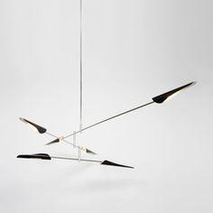 General lighting-Pendant lights in aluminium-Suspended lights-Sarus No 428-David Weeks Studio