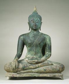 Image from http://upload.wikimedia.org/wikipedia/commons/9/9a/Thai_-_Seated_Buddha_in_%22Maravijaya%22_-_Walters_542520.jpg.