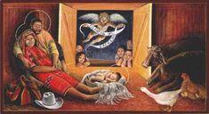 "John Giuliani, ""Guatemalan Nativity,"" 1990s."