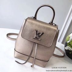 Louis Vuitton Lockme Backpack Mini M54575 Taurillon Leather