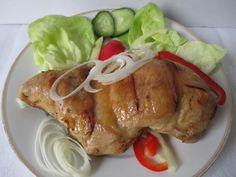 Egy szokásos menüpont karácsony napjára. Pork, Turkey, Meat, Kale Stir Fry, Turkey Country, Pork Chops