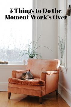 Happy Evenings at Home: 5 Things to Do the Moment Work's Over | Apartment Therapy