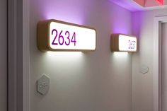 GBH recently completed the branding and signage for the new 'yotel' hotel in manhattan. Directional Signage, Wayfinding Signage, Signage Design, Directory Signs, Sign Writer, Led Fixtures, Interior Design Elements, Hotel Branding, Pop Display