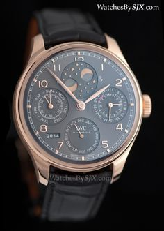 Watches by SJX: Up Close with the IWC Portugieser Perpetual Calendar (with Original Photos & Price)