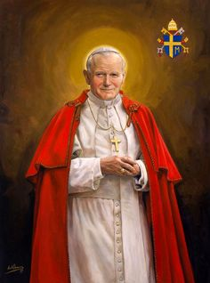 (4) Twitter Catholic Religion, Catholic Art, Catholic Saints, Roman Catholic, Juan Pablo Ll, Catholic Wallpaper, Catholic Pictures, Pope John Paul Ii, Paul 2