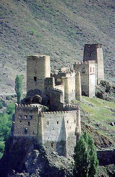 Khertvisi Castelo
