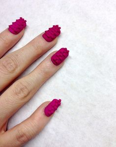 3D Printed Nail Art Will Take Your Manicure To The Next Level