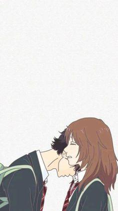 222 best cute couple cartoon images in 2019 Cute Couple Cartoon, Cute Couple Art, Anime Love Couple, Cute Anime Couples, Anime Couples Drawings, Couple Drawings, Futaba Y Kou, Cover Wattpad, Cute Couple Wallpaper