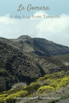 A day trip to La Gomera from Los Christianos, Tenerife in the Canary Islands, Spain.