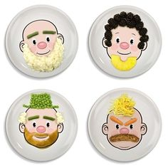 Mr Food Face Plate