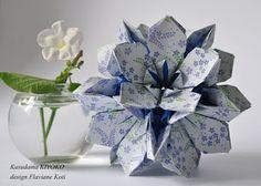 Paper Therapy: PICTURE AND DIAGRAM OF TRIVIA kusudama KIYOKO