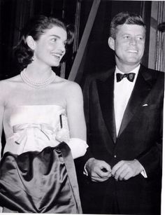 Jacqueline Kennedy (1929-1994) and President John F. Kennedy (1917-1963)