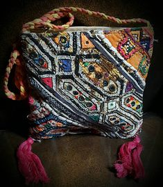 Check out this item in my Etsy shop https://www.etsy.com/listing/527383703/vintage-multi-materials-handmade-in
