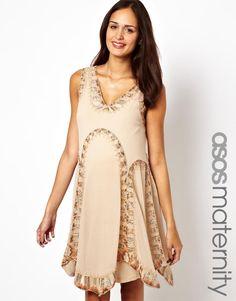 ASOS Maternity | ASOS Maternity Flapper Dress With Embellishment at ASOS