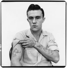 "Richard Avedon - Dick Hickock, murderer of ""In Cold Blood"" by Truman Capote, Garden City, Kansas, April 1960 Richard Avedon Portraits, Richard Avedon Photography, Killer Joe, Linus Pauling, Dr Marcus, Jerome Robbins, Sebastian Kim, Foul Play, In Cold Blood"