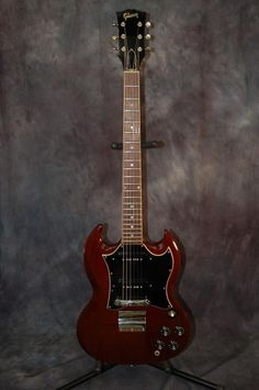 Today Lawman Guitars is Presenting…A very special guitar. An excellent shape 1967 Gibson SG Special with original Hardshell Case! This is known as the Pete Townsend Guitar. Give us a call. Lawman Guitars. 515-864-6136