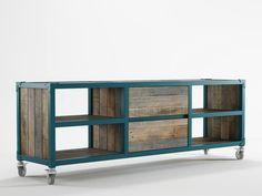 TV-Möbel / Sideboard aus Holz Sideboard mit Schubladen Kollektion AK- 14 by KARPENTER   Design KARPENTER