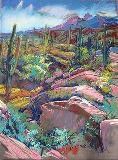 Pastel Painting by Annie Helmericks Louder