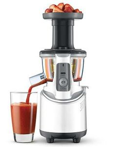 The perfect gift for the health-conscious person in your life, the Breville® the Juice Fountain™ Crush enables thicker, smoother-textured juices made from fruits, nuts, leafy greens and more.