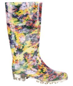 Floral wellies - a festival must-have!  This gorgeous pair are from Primark and are just £10.00