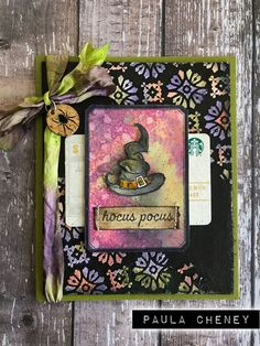 the creative fright continues with more eerie inspiration from the projects featured in my stampers anonymous halloween… Halloween Scrapbook, Halloween Tags, Fall Halloween, Halloween Crafts, Halloween Decorations, Wreath Crafts, Paper Crafts, Card Making Inspiration, 2017 Inspiration