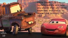 cars disney quotes quotesgram car quotes The Effective Pictures We Offer You About cars hacks A quality picture can tell you many things. Vintage Jeep, Lightning Mcqueen Quotes, Life Lesson Quotes, Life Lessons, Cars Movie Quotes, Jeep Wrangler, Planner Stickers, Disney Cars Movie, Movie Cars