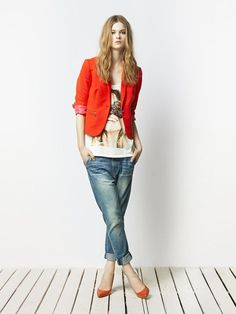 Like the color combo                           Zara TRF April 2011 Lookbook: Bo Don, #Style, #Fashion