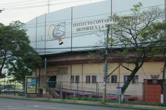 The Central Gymnasium in Parque La Sabana is where Olympic athletes in gymnastics, boxing, basketball, etc., train.