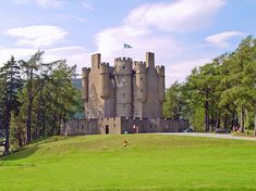 Braemar Castle, Braemar, Cairngorms National Park, Scotland, UK. http://dailytravelideas.com/