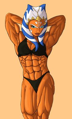 Ahsoka shows off abs by Ritualist on DeviantArt Star Wars Girls, Strong Girls, Muscle Girls, Alter, New Outfits, Iron Man, Things That Bounce, Abs, Deviantart