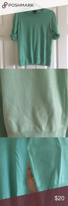 J.Crew Merino Wool Tippi Sweater Gently used J.Crew sweater in good condition. There are a few small spots pictured in photos 2 and 3; they're located on the front lower right and on the right sleeve. Other than that this beautiful and comfortable sweater is wonderful! J. Crew Sweaters Crew & Scoop Necks