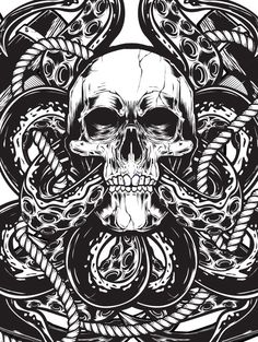 Skull Vector Session on Behance