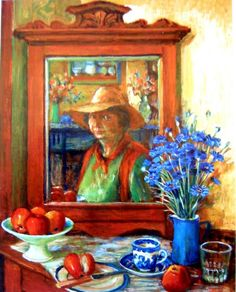 margaret olley | Paintings - Margaret Hannah Olley - Page 18 - Australian Art Auction ...
