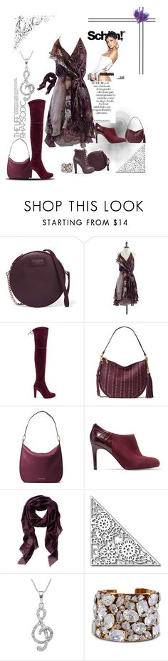 """Shades of Purple"" by lisia-allen ❤ liked on Polyvore featuring Arco, Dolce&Gabbana, Haute Hippie, Stuart Weitzman, MICHAEL Michael Kors, Jewel Exclusive and STELLA McCARTNEY"