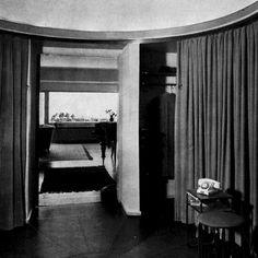 Hallen i E S Perssons våning i Ribershus