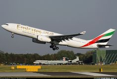 Emirates A6-EAP Airbus A330-243 aircraft picture