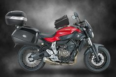 Yamaha's MT-07 fully-kitted tourer by Givi