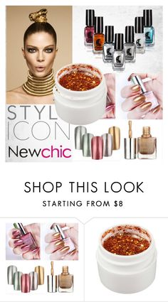 """NewChic for Beauty XX"" by egordon2 ❤ liked on Polyvore featuring beauty"