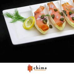 If you love our appetizers but can't seem to make up your mind about your favorite one, there's no need to panic! Pick 3 of your favorite 3 bite-size appetizers for only $12.95 every night at our Bar/Lounge area - like our delicious Smoked Salmon, made with fresh ingredients such as salmon, capers, chopped onions and endives, with a hint of lime and cilantro.
