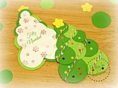 Arbol de Navidad super fácil Super easy christmas tree - Christmas card