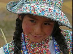 Girl in Traditional Costume, Peru | by themanwithsalthair