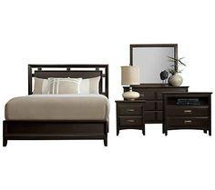 City Furniture: Ridgeway Dark Tone Platform Bedroom Package