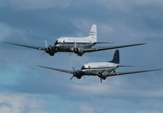DC3, not often you see these two together