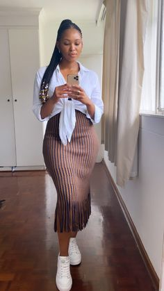 Cute Casual Outfits, Modest Outfits, Modest Fashion, Stylish Outfits, Girl Outfits, Fashion Outfits, Black Girl Fashion, Look Fashion, Spring Summer Fashion
