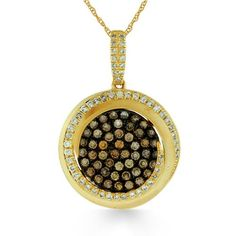 Shop online Arthurs Collection PDR-13400 Yellow Gold DIAMOND Necklaces  at Arthur's Jewelers. Free Shipping
