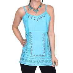 Scully Women's Embroidered Camisole